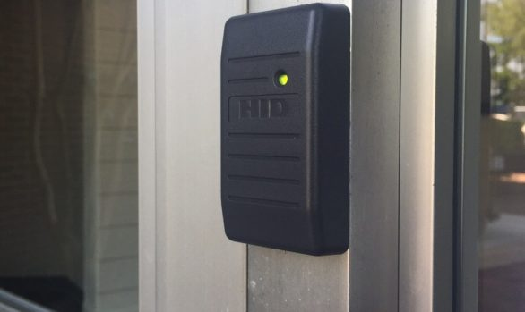 Electronic Key Card System